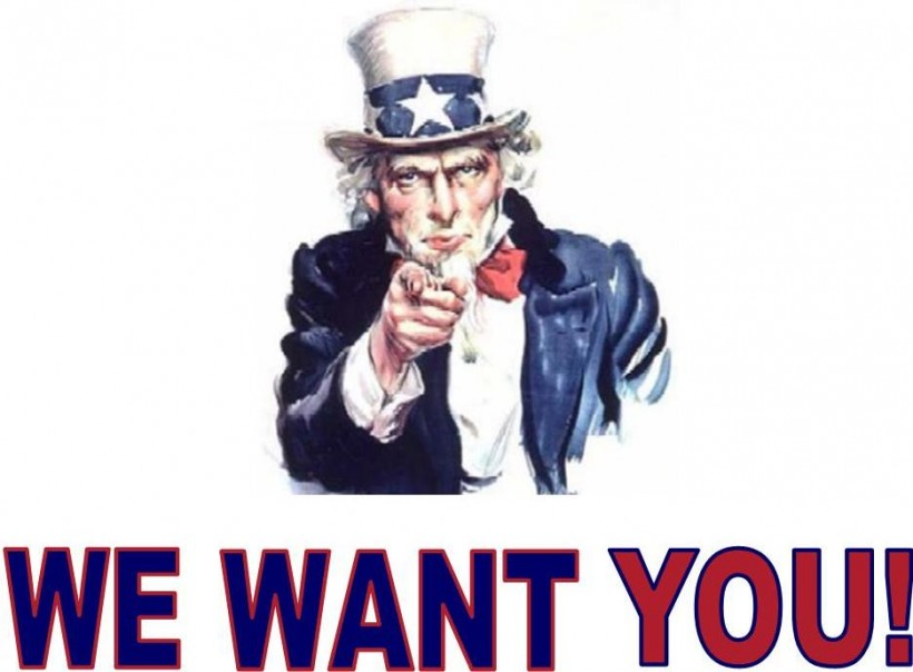 we want you 820x604