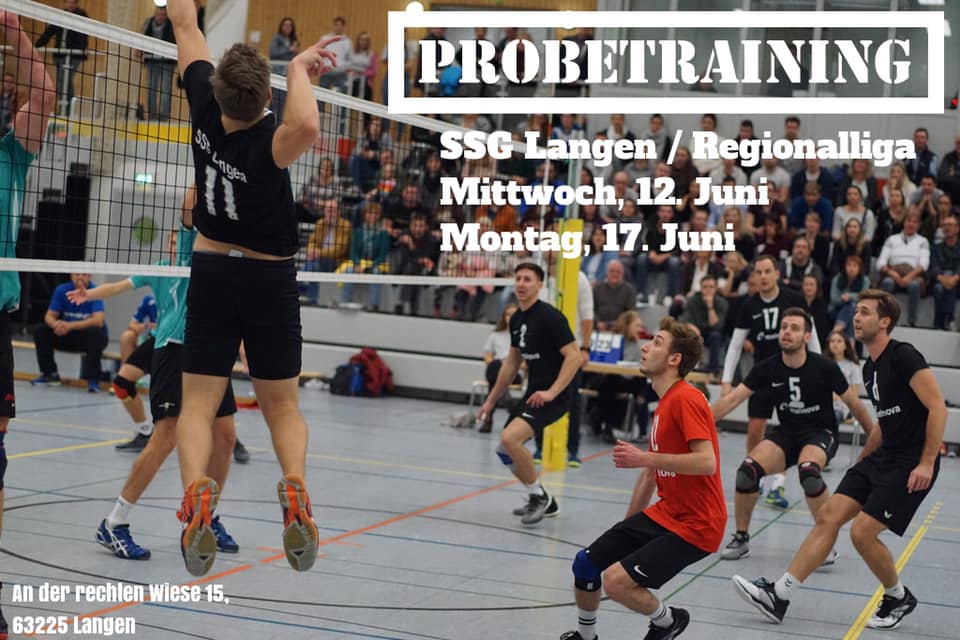 Volleyball Probetraining